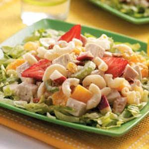 Chicken fruit salad
