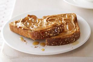 Wholegrain bread toast