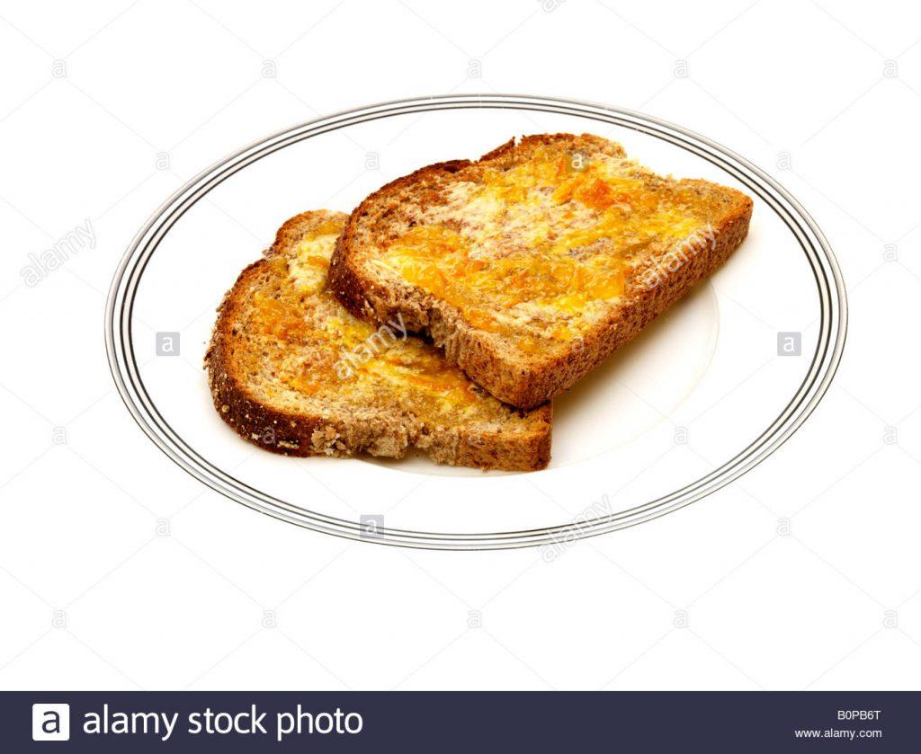 Marmalade Toast